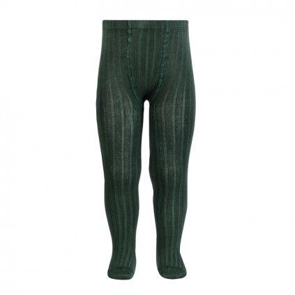 basic rib tights pine
