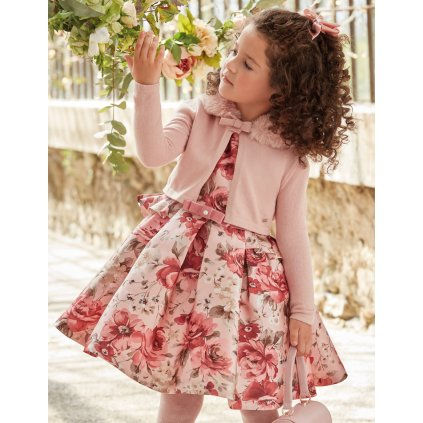 Abel & Lula dívčí květinové šaty 5551 - 045
