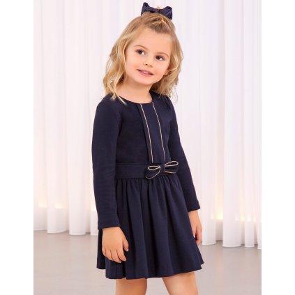 Abel & Lula dívčí pletené šaty 5561 - 007  Viskóza
