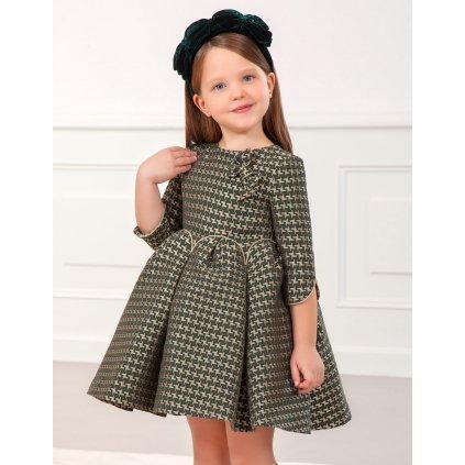 Abel & Lula dívčí žakárové šaty 5558 - 006