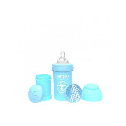 355 kojenecka lahev anti colic 180ml pastelove modra(1)