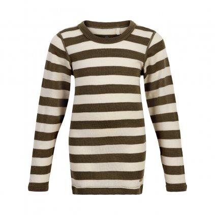 CeLaVi dětské vlněné triko s dlouhým rukávem 330335 - 2032  Vlna