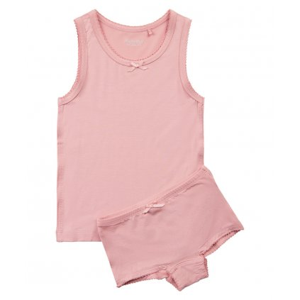 Minymo dívčí spodní prádlo set tílka a kalhotek 4877 - 524  Viskóza