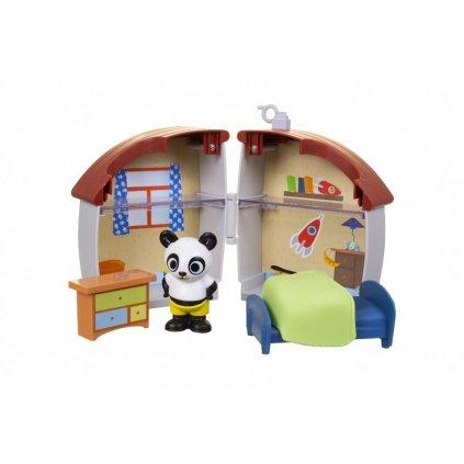 bing domecek hraci sada h060878 2 medvidek pando
