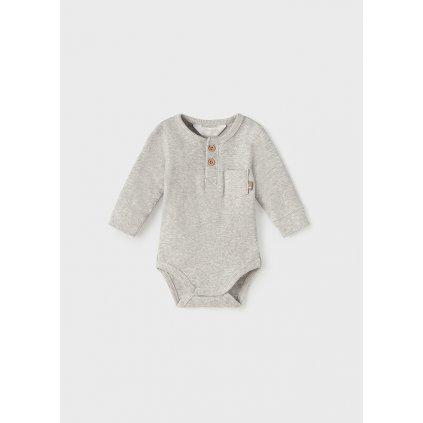 ecofriends rib knit onesie newborn boy id 11 02710 076 L 4
