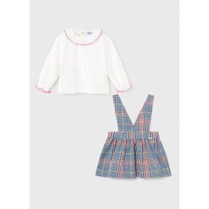 plaid overall skirt set baby girl id 11 02932 007 L 4
