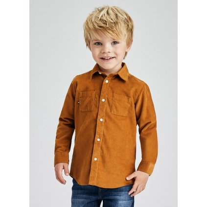 micro corduroy long sleeve shirt boy id 11 04164 075 L 2