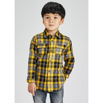 ecofriends plaid overshirt boy id 11 04162 011 L 2
