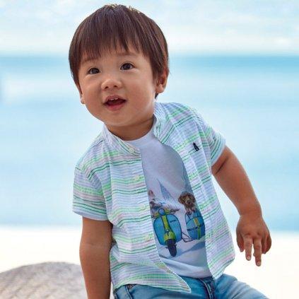 Mayoral chlapecká košile s krátkým rukávem 1161_081