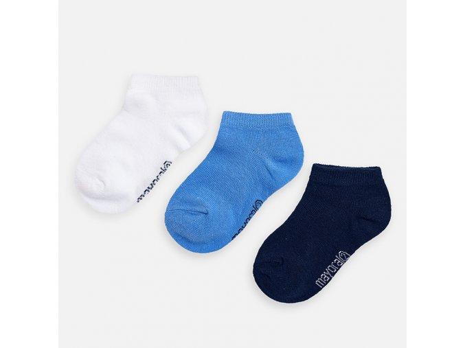Mayoral kotníčkové ponožky 3ks 10784-082