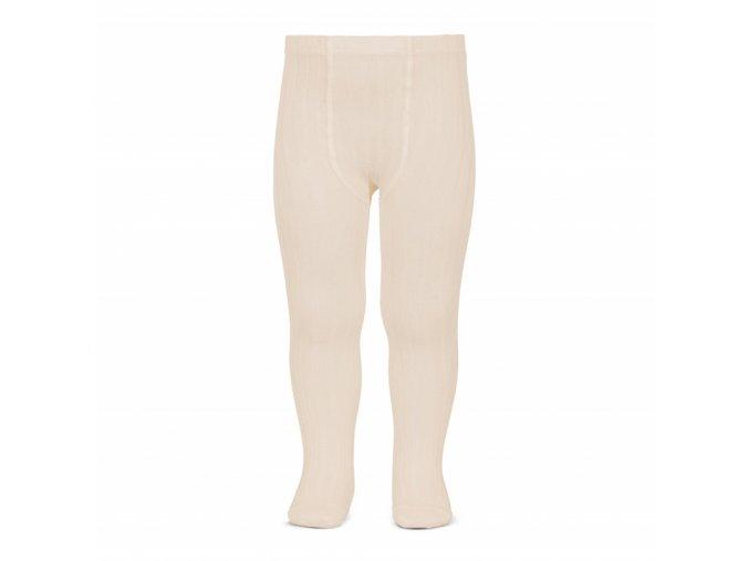 basic rib tights linen