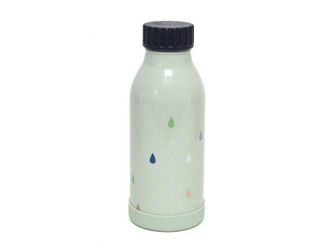 stainless steel drinkingbottle drops green vsb2 1