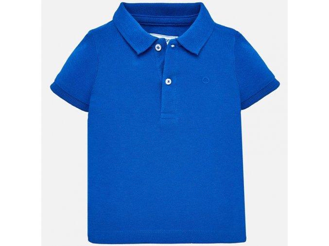 Mayoral chlapecké polo triko modré 102-59