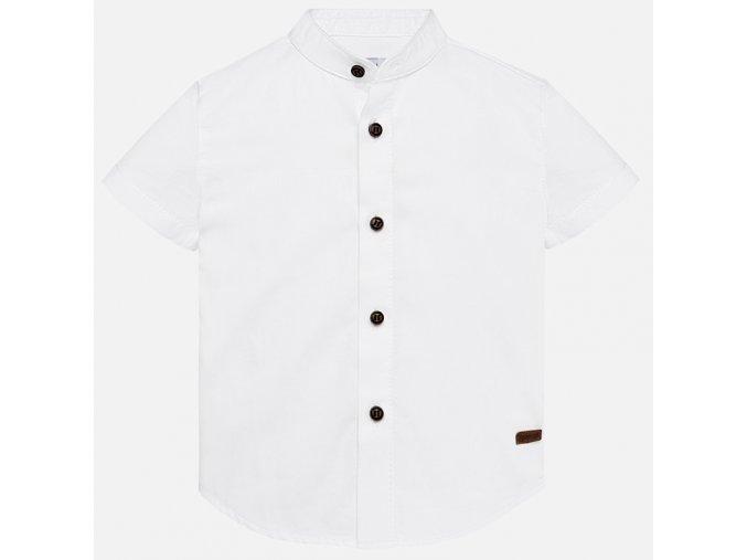 Mayoral chlapecká košile s krátkým rukávem 1129