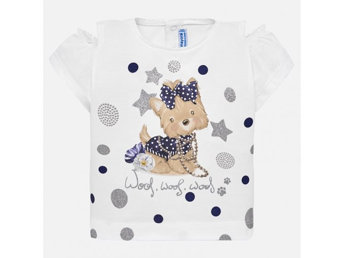 Mayoral dívčí tričko s krátkým rukávem 1007