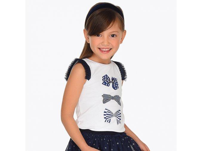 Mayoral dívčí tričko s krátkým rukávem 3021