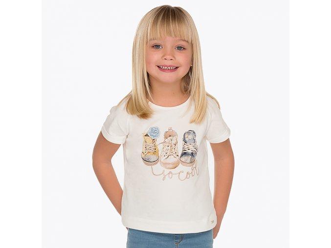 Mayoral dívčí tričko s krátkým rukávem 3004