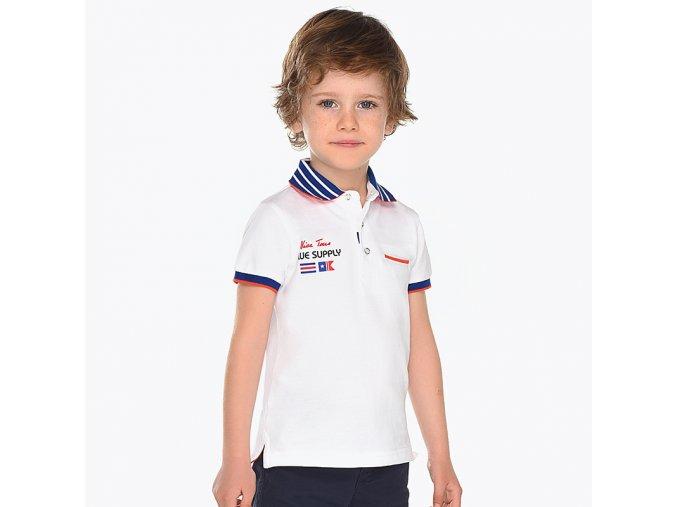 Mayoral chlapecké polo tričko oranžové 3120