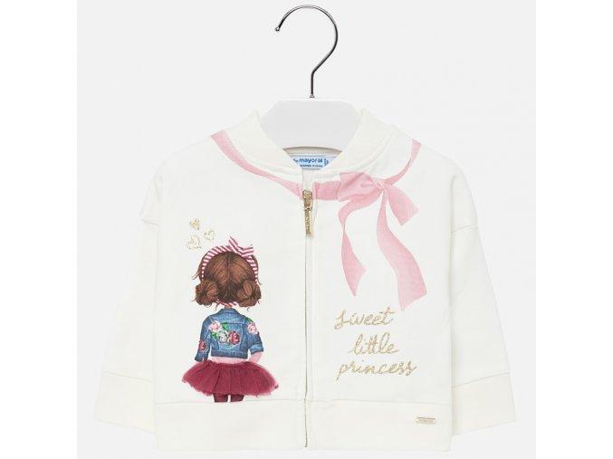 Mayoral dětská fleece mikina 2438