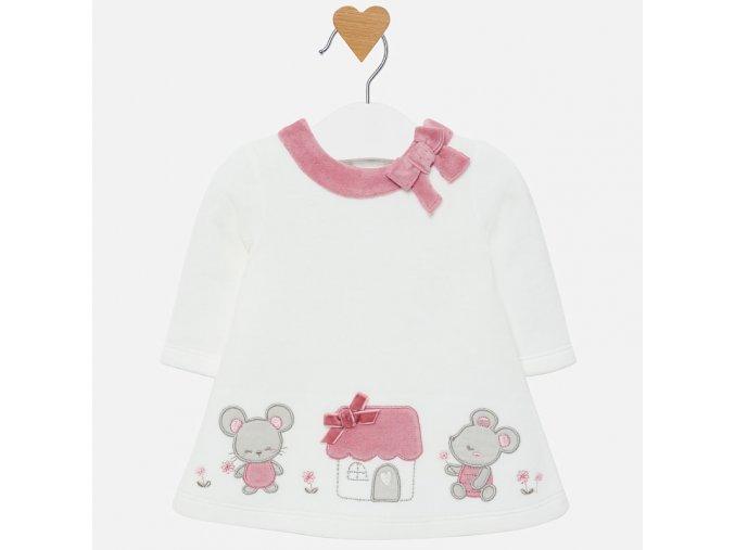 Mayoral novorozenecké šaty 2806