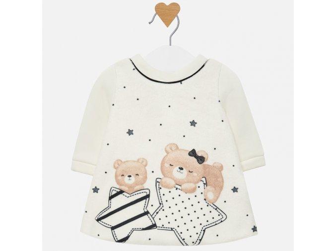 Mayoral novorozenecké fleece šaty 2808_74