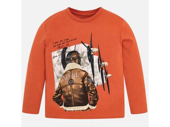 Mayoral chlapecké tričko s dlouhým rukávem 4017_084