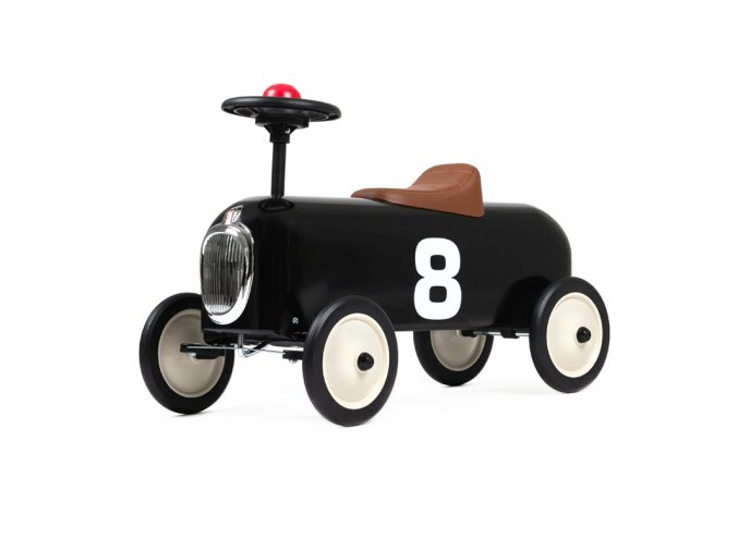 ride on racer black