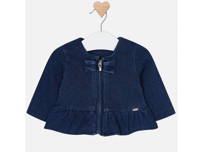 Mayoral novorozenecký džínový kabátek  Kojenecké šaty