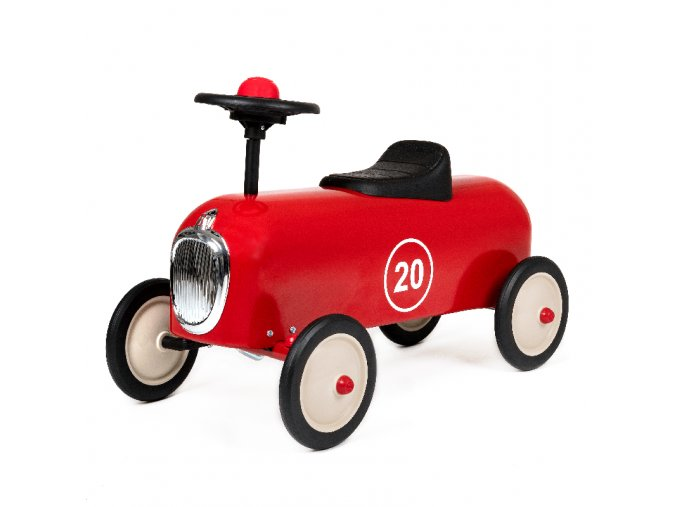 ride on racer red