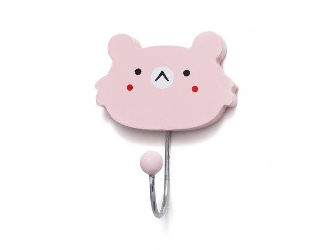 hook koala face hkf pink 1