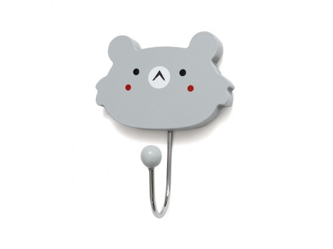 hook koala face hkf grey 1