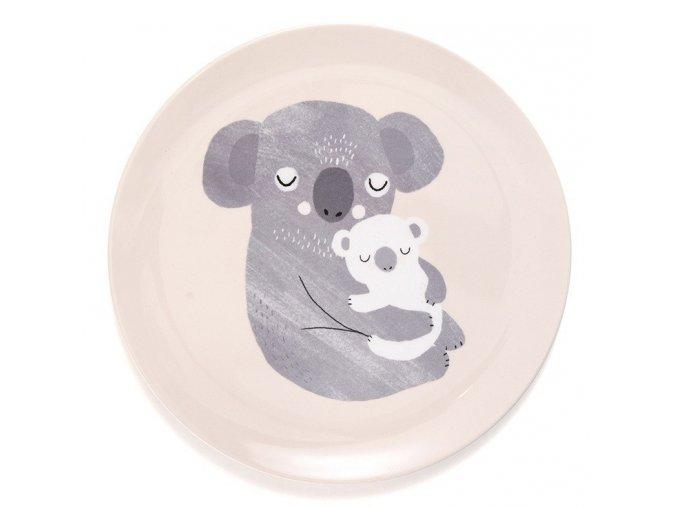 melamine plate koala mp32