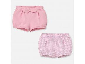 Mayoral dívčí novorozenecké kraťasy set 01261-065