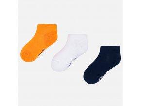 Mayoral kotníčkové ponožky 3ks 10784-080