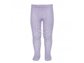 perle openwork tights lateral spike mauve