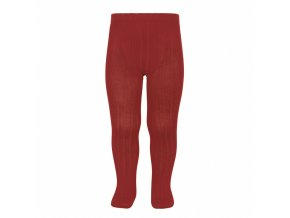 basic rib tights ruby