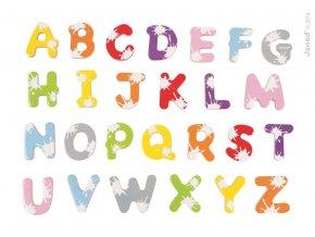 J09612 Drevene magnetky abeceda Splash Janod 52 ks od 3 8 rokov a