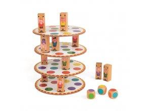 J02757 Spolocenska hra pre deti Akrobat Janod od 5 rokov 2 8 hracov hra na motoriku a rovnovahu 3