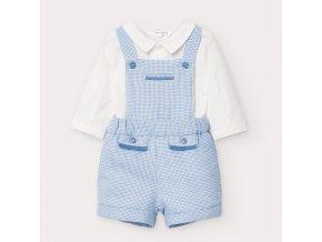 Mayoral chlapecký novorozenecký  set kalhot, košile a punčoch 2636-006