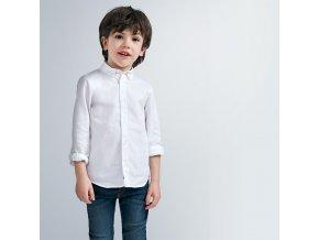 Mayoral chlapecká košile s dlouhým rukávem 146-035