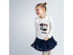 Mayoral dívčí tylová glitrová sukně 4953-094