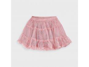 Mayoral dívčí  tylová glitrová sukně 4953-097