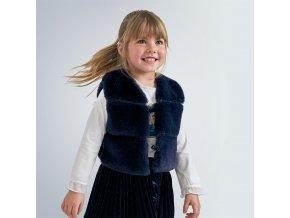 Mayoral Dívčí vesta z umělé kožešiny 4351-012