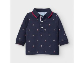 Mayoral Chlapecké triko s dlouhým rukávem 2124-010