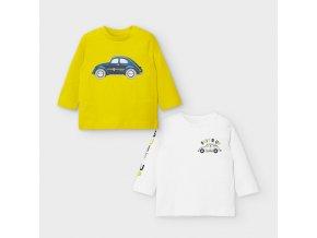 Mayoral chlapecký set triček 2037-089