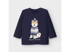 Mayoral Chlapecké triko s dlouhým rukávem 2050-036