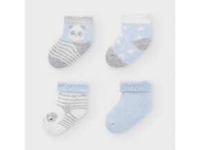 Mayoral set 4 párů novorozeneckých ponožek 9302-077