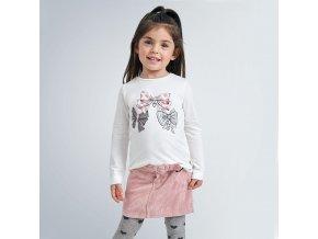 Mayoral dívčí triko s dlouhým rukávem 4068-030