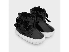 Mayoral dívčí koženkové boty  9343-057