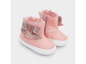 Mayoral dívčí koženkové boty  9343-058